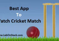 App Cricket Match